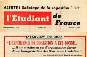 Etudiant de France N° 24 1961