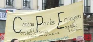 Dans la manifestation du 7 février 2006. Photo Robi Morder / Cité des mémoires étudiantes
