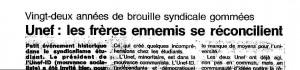 Ouest France 13 et 14 novembre 1993