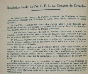 resolution finale de l'AG
