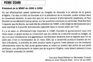 SICARD AUX 90 ANS DE L UNEF