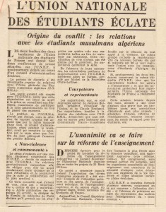 Pariis presse l'Intransigeant 4 juillet 1956