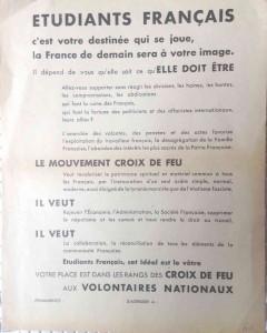 CROIX DE FEU 1936