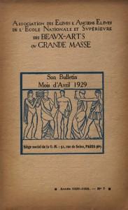 La Grande Masse des Beaux-Arts (1926-1968) @ Maison de la recherche de Sorbonne-Université - salle 513