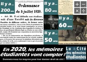 12e  JARME : (Journée archives, recherches & mémoires étudiantes) @ Site universitaire de Gennevilliers de l'université Cergy