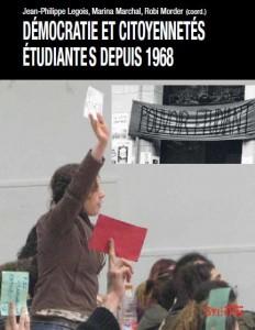 democratie et citoyennetes étudiantes depuis 1968 couv